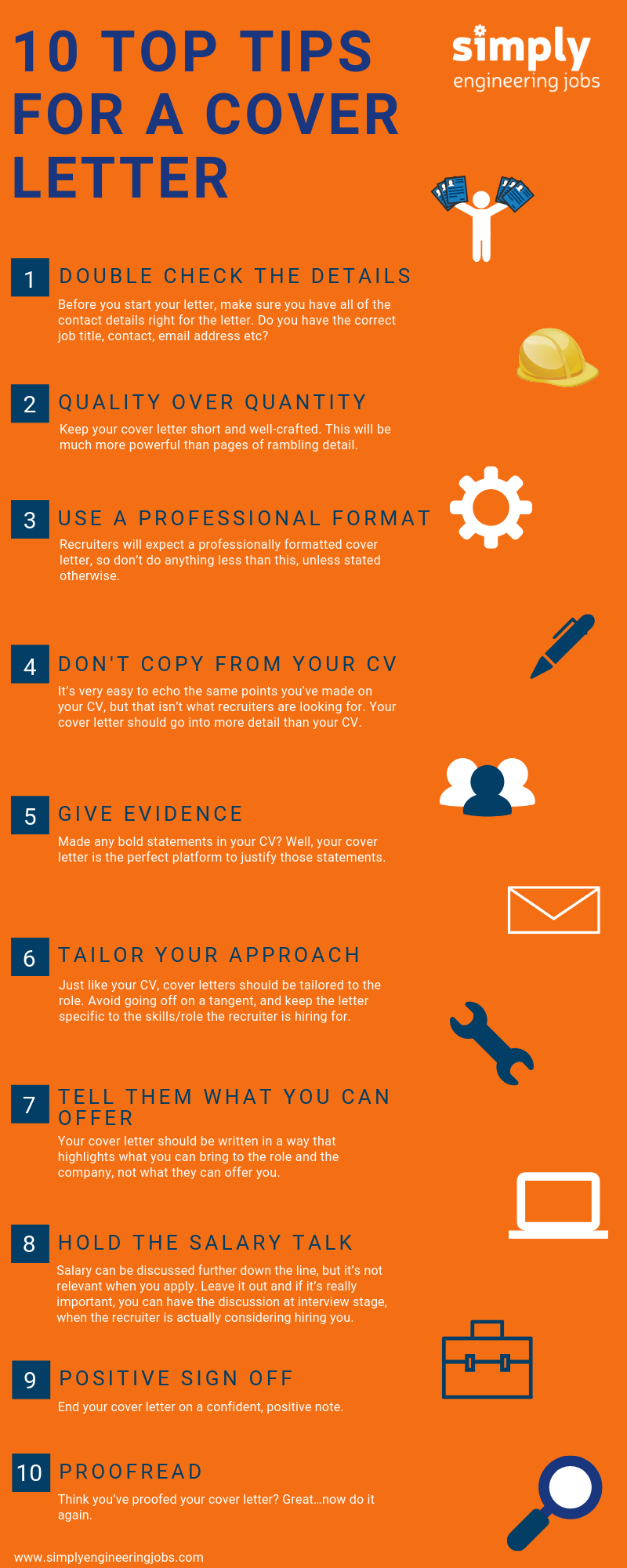 10 Top Tips For A Cover Letter 4